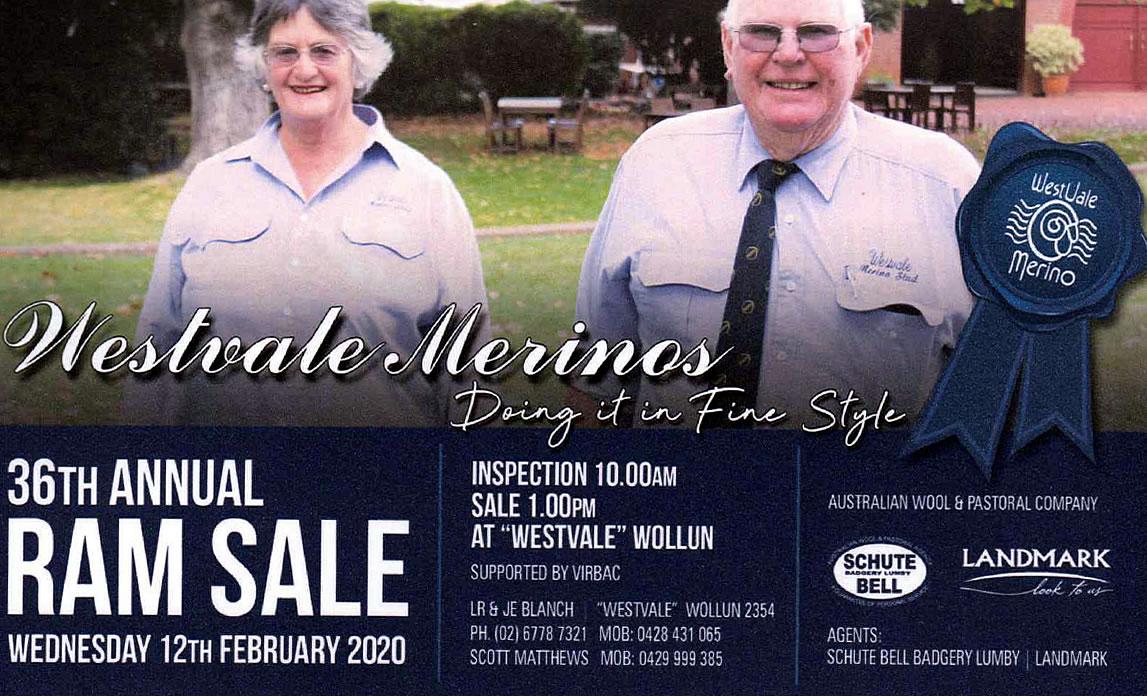 26th Annual Ram Sale 12 Feb 2020